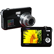 Vivikai - 12 MP Digital Camera with 2.7 Inch TFT LCD Display and 3×Optical Zoom