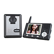 Wireless Night Vision Camera + 3.5 Inch Door Phone Monitor