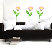 Flower Wall Sticker (0752 -P2-01(A))