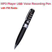 penna usb registrazione vocale con lettore mp3 (2gb, fm)