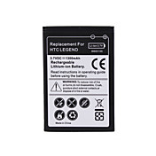 1500mAh batterie de remplacement pour HTC Legend G6
