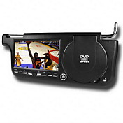 7 Inch Left/Right Side Sun Visor Car DVD Player with FM Transmitter TV