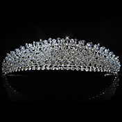 lega splendida sposa con strass tiara / copricapo