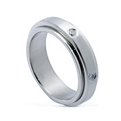 Man's Fashion Rotated Titanium Steel Ring