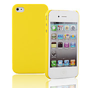 Etui Rigide de Protection Simple pour iPhone 4 - Assortiment de Couleurs
