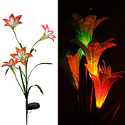 Solar LED Flower Ligh(CIS-28078)