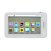 4.3 Inch Touchscreen MP4 Player (8GB, White/Black)