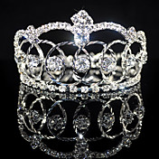 Beautiful Rhinestones Alloy Wedding Bridal Tiara/ Headpiece