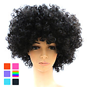 Capless Synthetic Afro Costume Party Wig