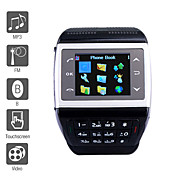 ET - Horloge Tlphone Portable 1,4 Pouces Radio FM