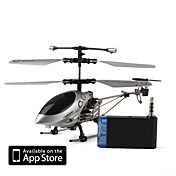 3 canais i-helicptero 777-172 com giroscpio controlado pelo iPhone / iPad / iPod touch (lasca)