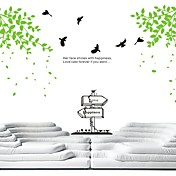 Birds and Trees in Spring Wall Stickers (1985-P27)