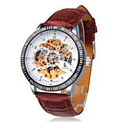 Minotaur - Fashion Coloring Mechanical Brown Gold Men's Watch