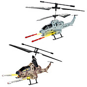 U809A Fire Missile Infrared Remote Control Helicopter for iPhone / iPod / iPad / Android (Assorted Colors)
