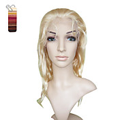 Full Lace Long Deep Wave 100% India Reme Hair Wig Multiple Colors To Choose