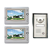 7 Inch Photo Taken Video Door Phone System (2 LCD Screens, Rain Cover)