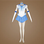 cosplay kostyme inspirert av Sailor Moon ami Mizuno / sailor kvikkslv