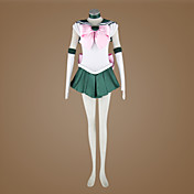 cosplay drkt inspirerad av Sailor Moon Makoto kino / sailor jupiter