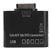 5-In-1 Camera Connection Kit for Samsung Galaxy Tab (Black)