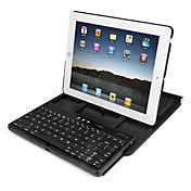 Tastiera QUERTY Wireless Bluetooth 2.0 con custodia ruotabile di 360°per iPad 2 e Nuovo iPad