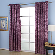 (Two Panels) Aspire Embossed Blackout Thermal Curtains