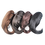 Claw Clip Synthetic Straight Ponytail - 4 Colors Available