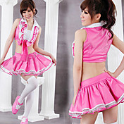Princess Series Dancing Girl Pink Polyester Costume (3 Pieces)
