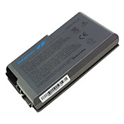batteri for Dell Latitude d505 D510 D500 D520 D600 d610 d530 Inspiron 500m 510m 600m j2178/u1544 w1605 yd165 c1295