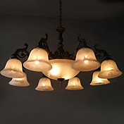 Lmpara Chandelier con 11 Bombillas - OTTOBRUNN