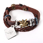 Personalized Maple Leaf Bracelet