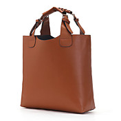 Fashion Lady's High Quality Brown Tote Bag