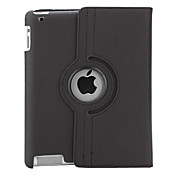 360 Grad drehbare Hlle fr iPad2 und das neue iPad aus PU Leder (Schwarz)