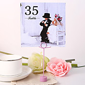 Square Table Number Card - Playmates