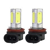 7.5W super brilhante h11 farol de nevoeiro veculo leve /, 2 pcs
