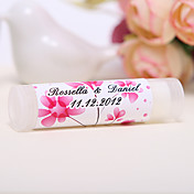 Personlized Lip Balm Tube Favors - Spring Flower (Set of 12)
