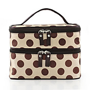 Stylish Women's Polyester Cosmetic Bag With Handle