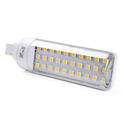 g24 4w 30x5050 SMD 300-350lm 2500-3500K warmes weies Licht LED-Lampe (220-240V)