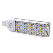 G24 3W 65x3528 SMD 150-200LM 2500-3500K Warm White Light LED Bulb (220-240V)