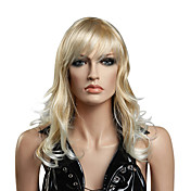 Capless High Quality Synthetic Medium Length Lovely Curly Wig
