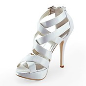 ZAHIRAH - Platform Bryllup Stilletthler Satin