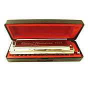 Kaine - (K1248-1) Intermediate Chromatic Harmonica C key/12 Holes/48 Tones