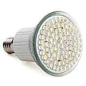 E14 80-LED 400LM 3-3.5W 2800-3500K Warm White Spot Bulbs (220-240V)