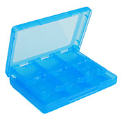28-in-1 opslag Game Card gevallen voor NDSi, ds lite en 3ds (blauw)