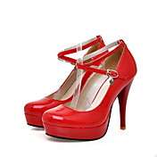 Patent Leather Stiletto Heel Closed Toe Pumps Party / Evening Shoes With Platform (More Colors)
