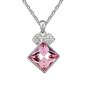 Beautiful Alloy With Crystal Ladies' Necklace (More Colors)
