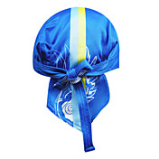 KOOPLUS-Men's 100% Polyester Cycling Headscarf (Light Blue)
