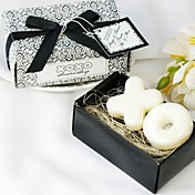 """Hugs & Kisses From Mr. & Mrs."" Scented Soap Wedding Favor (Set of 2 Pieces)"
