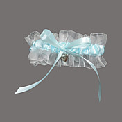 Organza/Satin With Sweetheart Wedding Garter