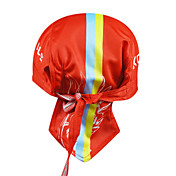 KOOPLUS-Men's 100% Polyester Cycling Headscarf (Red)