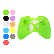 Etui de Protection en Silicone pour Manette de Xbox 360 - Couleurs Assorties